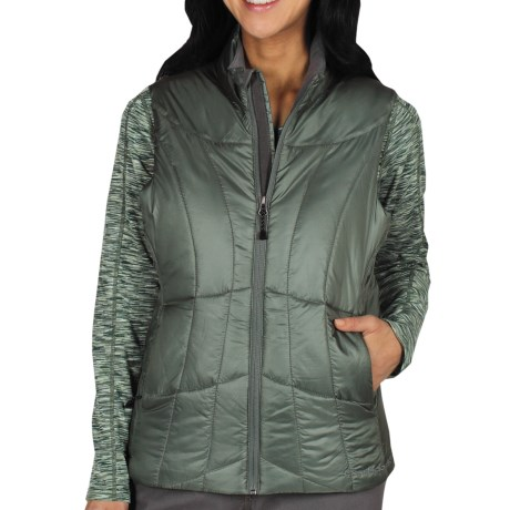 ExOfficio Storm Logic Vest - PrimaLoft® (For Women) in Rosemary