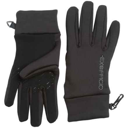 ExOfficio Stretch Gloves - Touchscreen Compatible (For Women) in Black - Closeouts