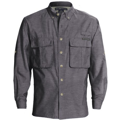 ExOfficio Super Air Strip Shirt - UPF 30+, Long Sleeve (For Men) in Pico Stripe