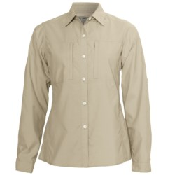 ExOfficio Super Dryflylite Shirt - UPF 30+, Long Sleeve (For Women) in Bone