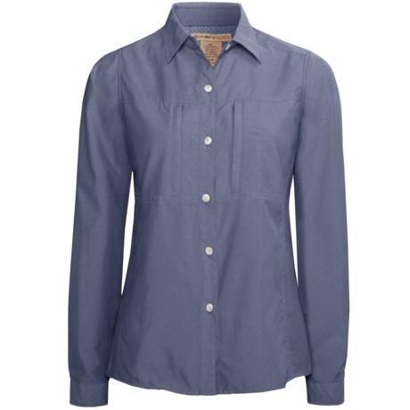 ExOfficio Super Dryflylite Shirt - UPF 30+, Long Sleeve (For Women) in Grey