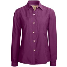 ExOfficio Super Dryflylite Shirt - UPF 30+, Long Sleeve (For Women) in Plum - Closeouts