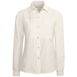 ExOfficio Super Dryflylite Shirt - UPF 30+, Long Sleeve (For Women) in White