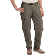 ExOfficio Super Nio Amphi Convertible Pants (For Women) in Cigar - Closeouts