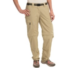 ExOfficio Super Nio Amphi Convertible Pants (For Women) in Light Khaki - Closeouts