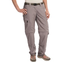 ExOfficio Super Nio Amphi Convertible Pants (For Women) in Slate - Closeouts