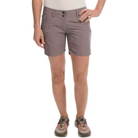 ExOfficio Super Nomad Shorts (For Women) in Slate - Closeouts
