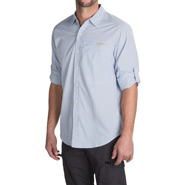 Exofficio super trip r shirt for men save 51 for Men s upf long sleeve shirt