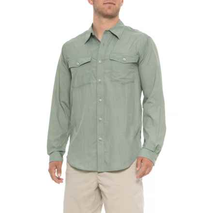 ExOfficio Syros Shirt - UPF 20, Long Sleeve (For Men) in Dusty Sage - Closeouts