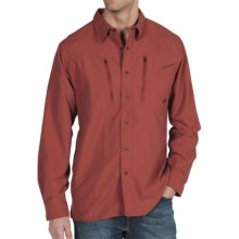 ExOfficio TakeOver Trek'r Shirt - Long Sleeve (For Men) in Brick - Closeouts