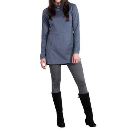 ExOfficio Tatra Hooded Dress - UPF 30, Long Sleeve (For Women) in Shadow - Closeouts