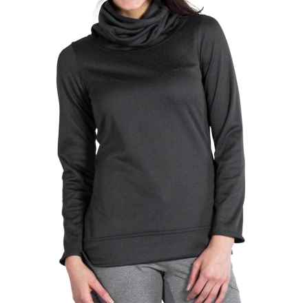 ExOfficio Tatra Reversible Turtleneck Shirt - UPF 30, Long Sleeve (For Women) in Carbon - Closeouts