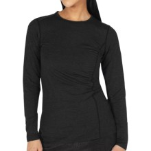 ExOfficio Teanaway Shirt - Dri-Release®, FreshGuard®, Long Sleeve (For Women) in Black - Closeouts