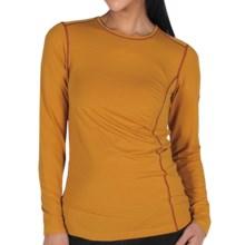 ExOfficio Teanaway Shirt - Dri-Release®, FreshGuard®, Long Sleeve (For Women) in Yam - Closeouts