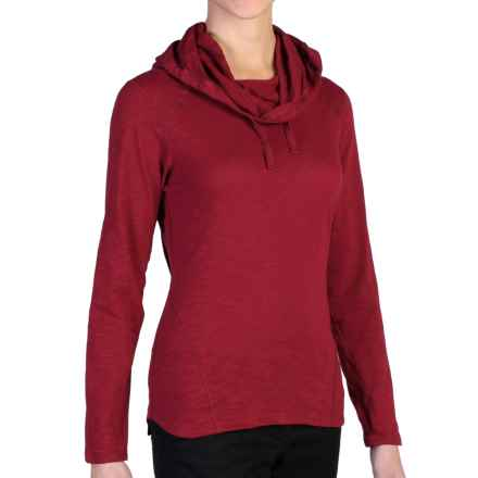 ExOfficio Techspressa Hoodie (For Women) in Tango - Closeouts