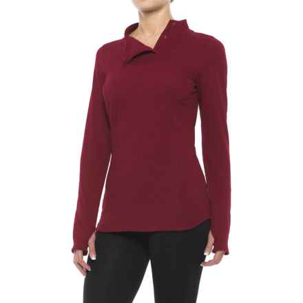ExOfficio Techspressa Snap Shirt - Long Sleeve (For Women) in Tango - Closeouts