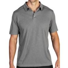ExOfficio Techspresso Polo Shirt - UPF 15+, Short Sleeve (For Men) in Road - Closeouts