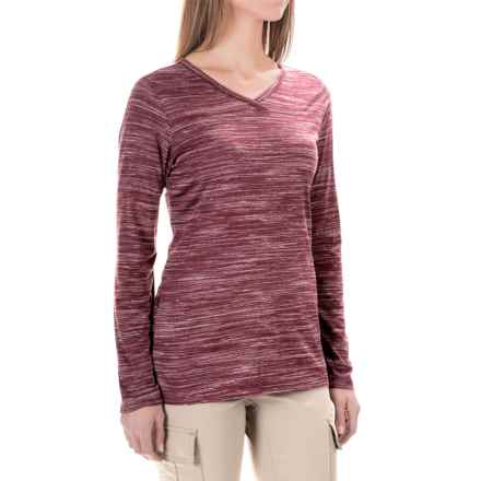 ExOfficio Terma Shirt - Long Sleeve (For Women) in Brandy Heather - Closeouts