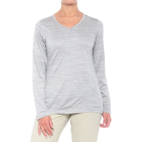 ExOfficio Terma Shirt - Long Sleeve (For Women) in Grey Heather