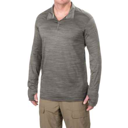 ExOfficio Termo Shirt - Long Sleeve (For Men) in Slate Heather - Closeouts