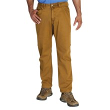 ExOfficio Terram Pants - UPF 50+, Cotton Blend (For Men) in Canyon - Closeouts