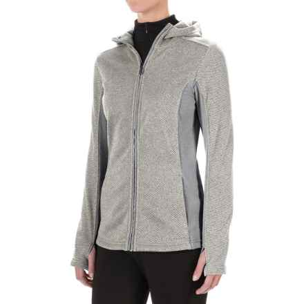 ExOfficio Thermique Hoodie - UPF 30, Full Zip (For Women) in Vellum - Closeouts