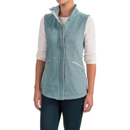 ExOfficio Thermique Vest - UPF 30 (For Women) in Smoke - Closeouts