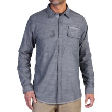 ExOfficio Tivoli Chambray Shirt - Long Sleeve (For Men) in Galaxy - Closeouts