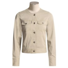 ExOfficio Tomboy Twill Jacket (For Women) in Bone - Closeouts