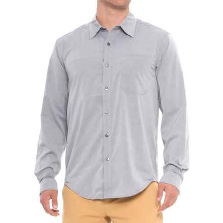 ExOfficio Toreno Shirt - UPF 30, Long Sleeve (For Men) in Navy Heather - Closeouts