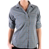 ExOfficio Trailing Off Micro Plaid Shirt - Long Sleeve (For Women)