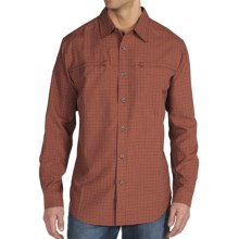ExOfficio Trifecta Check Shirt - UPF 30+, Long Sleeve (For Men) in Brick - Closeouts