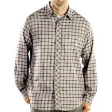 ExOfficio Trifecta Plaid Shirt - Long Sleeve (For Men) in Sage - Closeouts