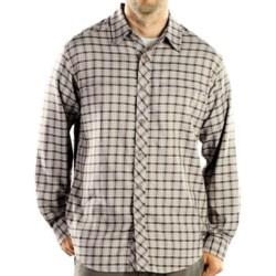 ExOfficio Trifecta Plaid Shirt - Long Sleeve (For Men) in Sage