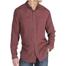 ExOfficio Trifecta Plaid Shirt - UPF 30+, Long Sleeve (For Men) in Dark Brick - Closeouts