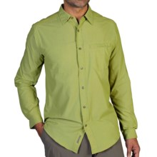 ExOfficio Trip'r Shirt - UPF 30+, Long Sleeve (For Men) in Pistachio - Closeouts