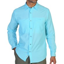 ExOfficio Trip'r Shirt - UPF 30+, Long Sleeve (For Men) in Tropez - Closeouts