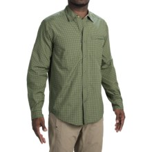 ExOfficio Trip'r Check Shirt - UPF 30+, Roll-Up Long Sleeve (For Men) in Ponderosa - Closeouts