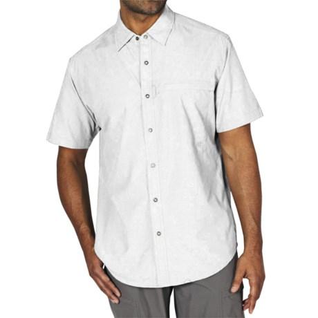 ExOfficio Tripr Shirt - UPF 30, Short Sleeve (For Men) in White