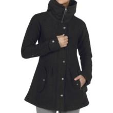 ExOfficio Tweedmuir Jacket - Boiled Wool (For Women) in Black - Closeouts