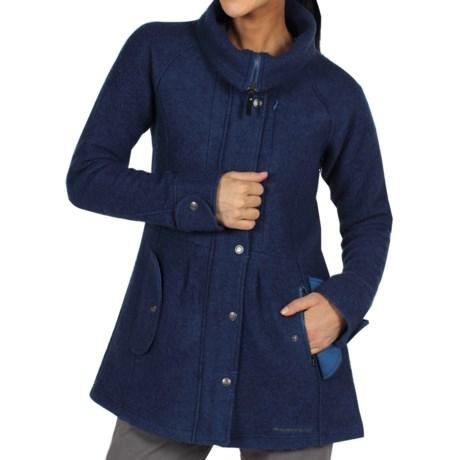 ExOfficio Tweedmuir Jacket - Boiled Wool (For Women) in Ensign