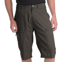 ExOfficio Vent'r Skim'r Shorts - UPF 20+ (For Men) in Dark Charcoal - Closeouts