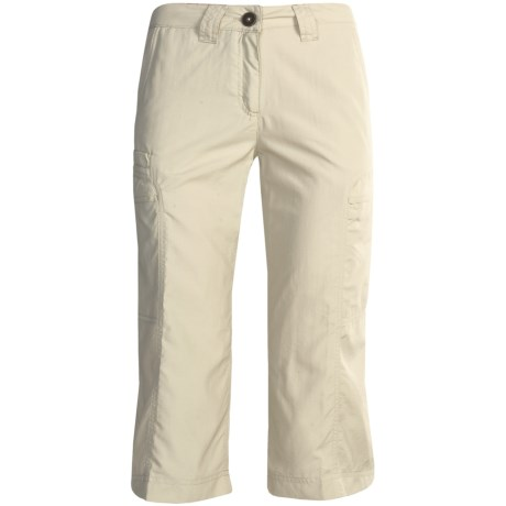 ExOfficio Vent'r Digr Capri Pants - Nio Nycott Ripstop UPF 30 (For Women) in Bone