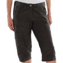 ExOfficio Vent'r Digr Capri Pants - Nio Nycott Ripstop UPF 30 (For Women) in Dark Charcoal - Closeouts