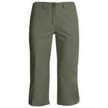 ExOfficio Vent'r Digr Capri Pants - Nio Nycott Ripstop UPF 30 (For Women) in Sage - Closeouts