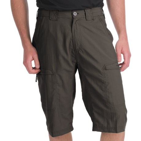 ExOfficio Vent'r Skim'r Shorts - UPF 20+ (For Men) in Dark Charcoal