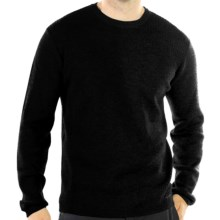 ExOfficio Venture Sweater - Merino Wool (For Men) in Black - Closeouts