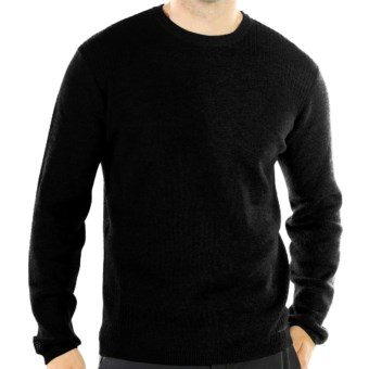 ExOfficio Venture Sweater - Merino Wool (For Men) in Black