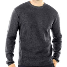 ExOfficio Venture Sweater - Merino Wool (For Men) in Dark Charcoal - Closeouts