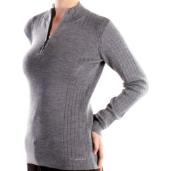 ExOfficio Venture Wool Sweater - Merino Wool (For Women) in Grey Heather